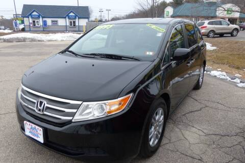 2012 Honda Odyssey for sale at Auto Wholesalers Of Hooksett in Hooksett NH