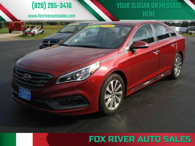 2016 Hyundai Sonata for sale at Fox River Auto Sales in Princeton WI