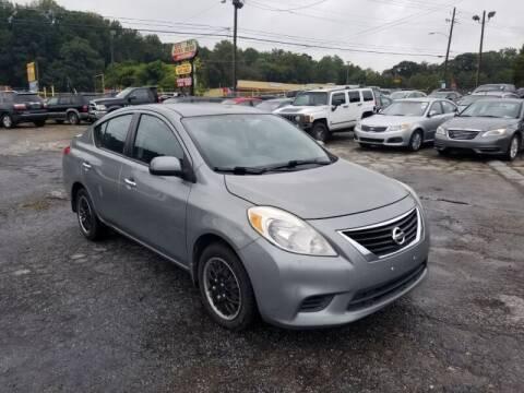 2013 Nissan Versa for sale at DREWS AUTO SALES INTERNATIONAL BROKERAGE in Atlanta GA