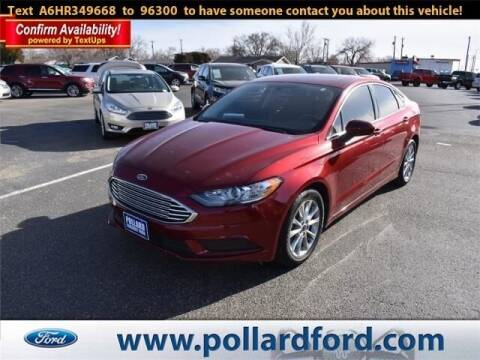 2017 Ford Fusion for sale at South Plains Autoplex by RANDY BUCHANAN in Lubbock TX