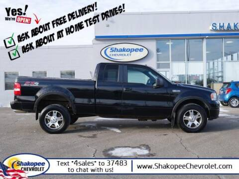 2007 Ford F-150 for sale at SHAKOPEE CHEVROLET in Shakopee MN