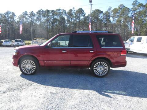 2016 Lincoln Navigator for sale at Ward's Motorsports in Pensacola FL