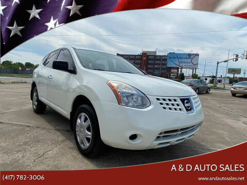 2010 Nissan Rogue for sale at A & D Auto Sales in Joplin MO