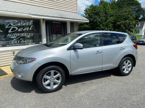 2009 Nissan Murano for sale at Real Deal Auto Sales in Auburn ME