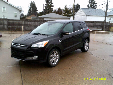 2013 Ford Escape for sale at Fred Elias Auto Sales in Center Line MI