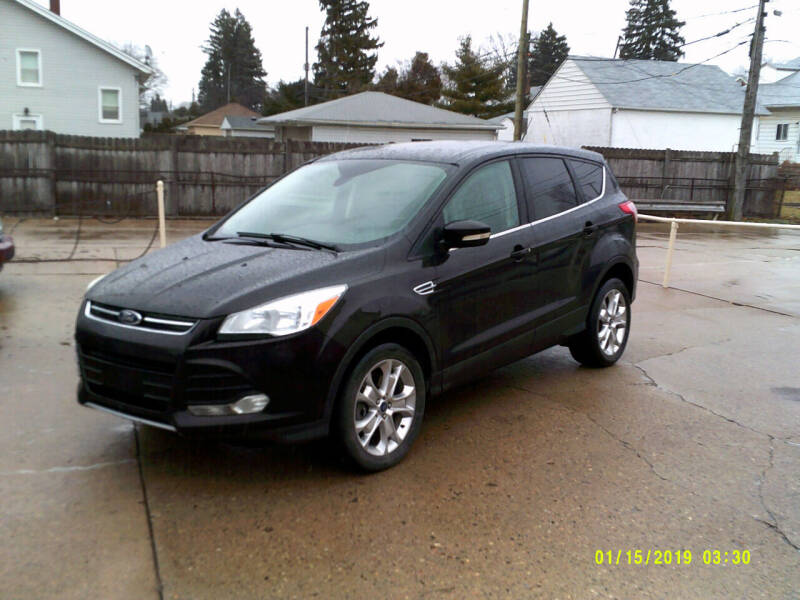 2013 Ford Escape for sale at Fred Elias Auto Sales in Center Line MI