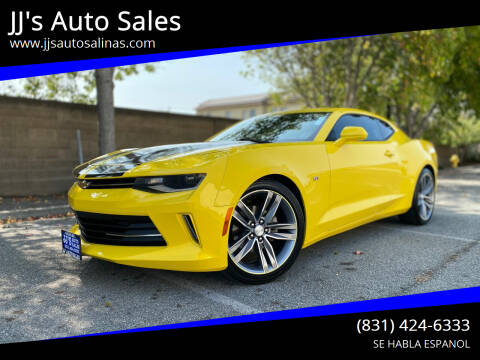 2016 Chevrolet Camaro for sale at JJ's Auto Sales in Salinas CA