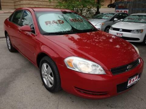 2007 Chevrolet Impala for sale at R & D Motors in Austin TX