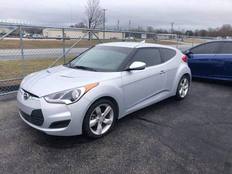 2015 Hyundai Veloster for sale at Cars Across America in Republic MO