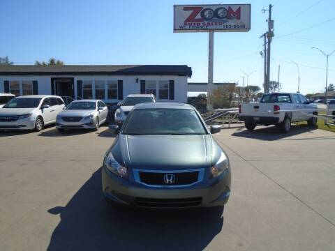 2008 Honda Accord for sale at Zoom Auto Sales in Oklahoma City OK