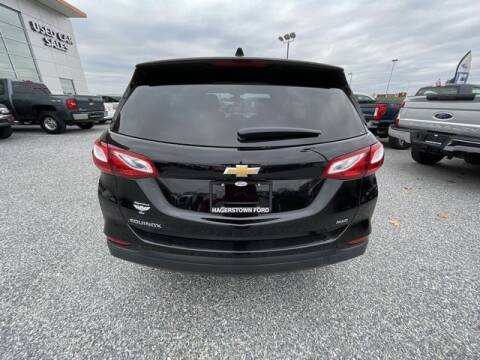 2020 Chevrolet Equinox for sale at King Motors featuring Chris Ridenour in Martinsburg WV