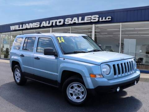 2014 Jeep Patriot for sale at Williams Auto Sales, LLC in Cookeville TN