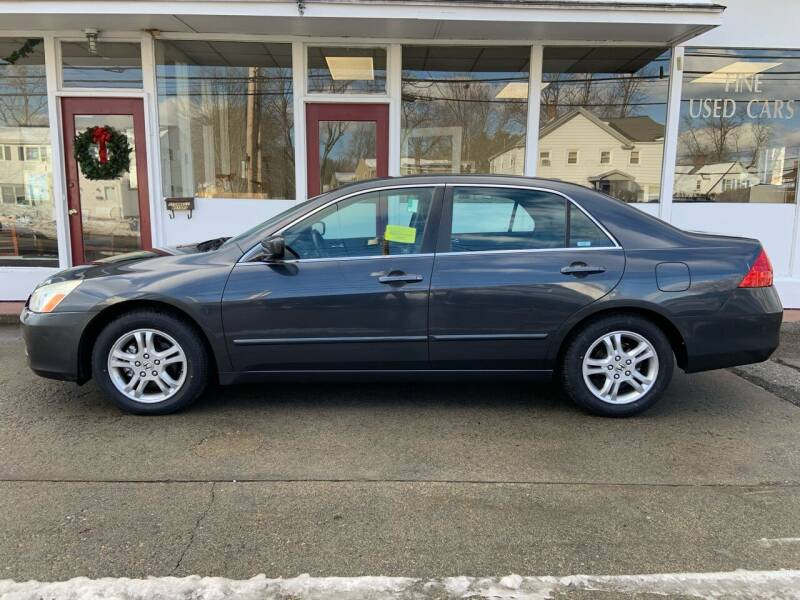 2006 Honda Accord for sale at O'Connell Motors in Framingham MA
