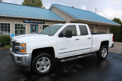 2015 Chevrolet Silverado 2500HD for sale at Summit Motorcars in Wooster OH