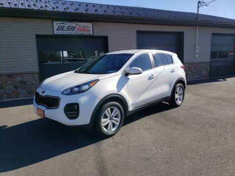 2018 Kia Sportage for sale at Ulsh Auto Sales Inc. in Summit Station PA