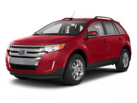 2013 Ford Edge for sale at SCOTT EVANS CHRYSLER DODGE in Carrollton GA