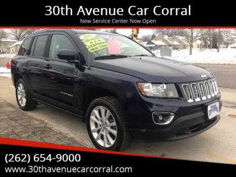 2017 Jeep Compass for sale at 30th Avenue Car Corral in Kenosha WI