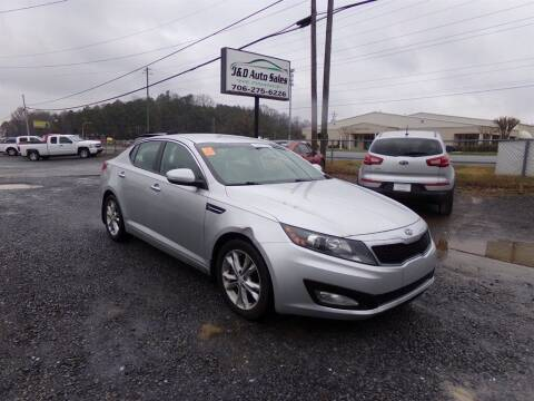 2012 Kia Optima for sale at J & D Auto Sales in Dalton GA