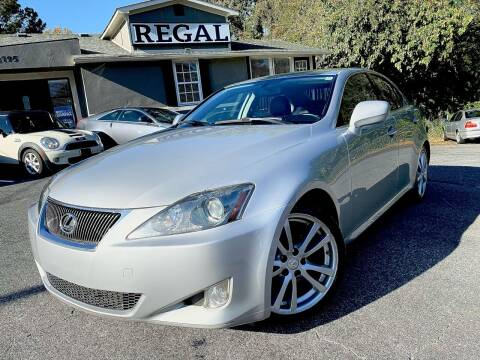 2006 Lexus IS 250 for sale at Regal Auto Sales in Marietta GA