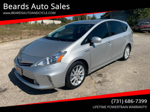 2012 Toyota Prius v for sale at Beards Auto Sales in Milan TN