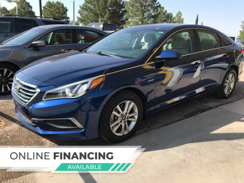 2016 Hyundai Sonata for sale at Fiesta Motors Inc in Las Cruces NM