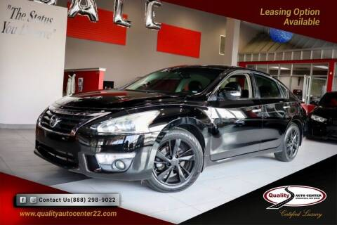 2013 Nissan Altima for sale at Quality Auto Center of Springfield in Springfield NJ