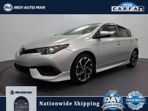 2018 Toyota Corolla iM for sale at INDY AUTO MAN in Indianapolis IN