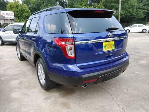 2014 Ford Explorer for sale at TR Motors in Opelika AL