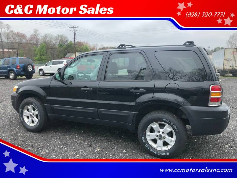 2005 Ford Escape for sale at C&C Motor Sales LLC in Hudson NC