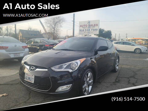 2012 Hyundai Veloster for sale at A1 Auto Sales in Sacramento CA