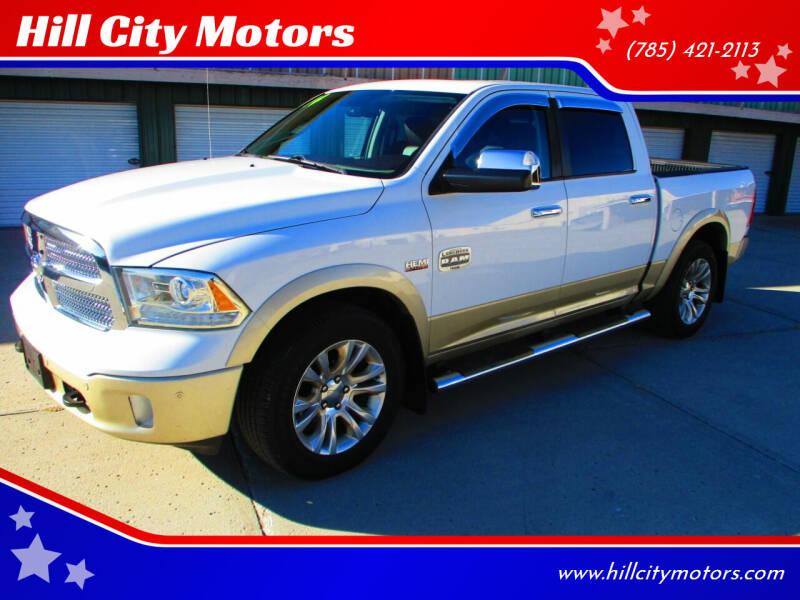 2014 RAM Ram Pickup 1500 for sale at Hill City Motors in Hill City KS