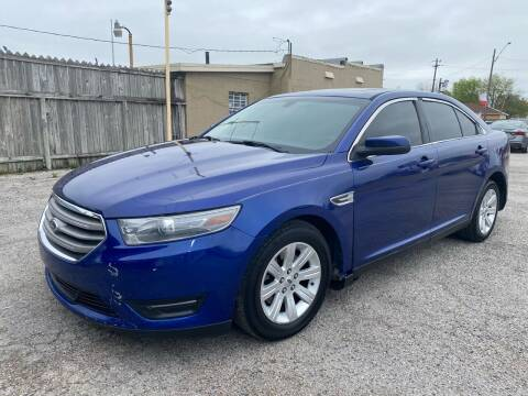 2013 Ford Taurus for sale at Mario Motors in South Houston TX