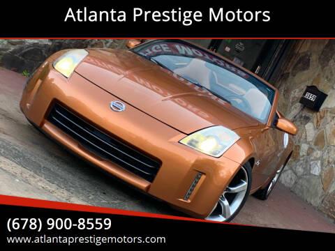 2006 Nissan 350Z for sale at Atlanta Prestige Motors in Decatur GA