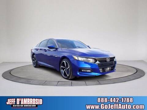2020 Honda Accord for sale at Jeff D'Ambrosio Auto Group in Downingtown PA