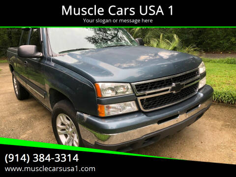 2007 Chevrolet Silverado 1500 Classic for sale at Muscle Cars USA 1 in Murrells Inlet SC