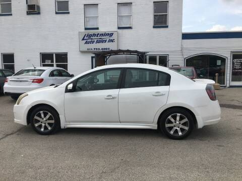 2012 Nissan Sentra for sale at Lightning Auto Sales in Springfield IL