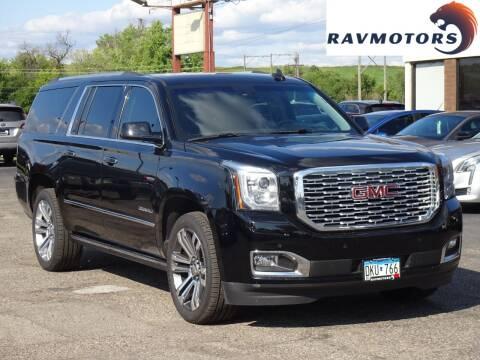 2015 GMC Yukon XL for sale at RAVMOTORS in Burnsville MN