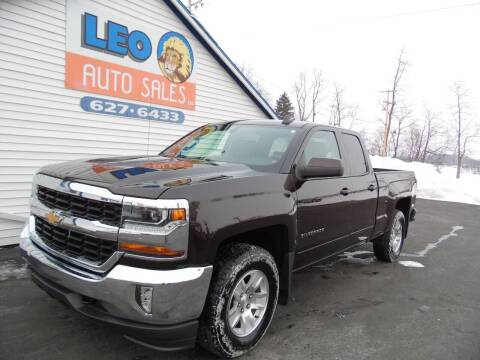 2018 Chevrolet Silverado 1500 for sale at Leo Auto Sales in Leo IN
