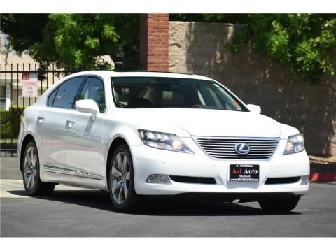 2008 Lexus LS 600h L for sale at A-1 Auto Wholesale in Sacramento CA