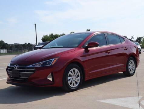 2019 Hyundai Elantra for sale at BIG STAR HYUNDAI in Houston TX