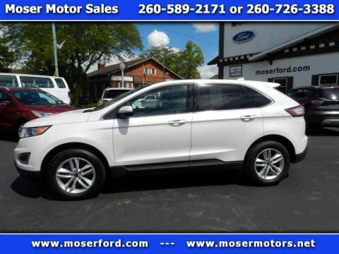2017 Ford Edge for sale at Moser Motors Of Portland in Portland IN