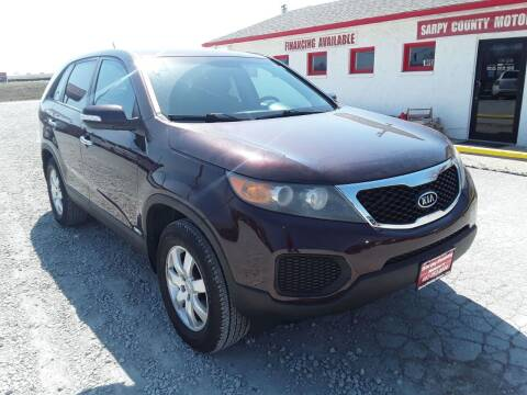 2011 Kia Sorento for sale at Sarpy County Motors in Springfield NE