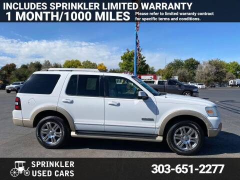 2006 Ford Explorer for sale at Sprinkler Used Cars in Longmont CO