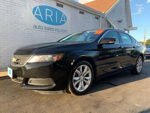2017 Chevrolet Impala for sale at ARIA AUTO SALES in Raleigh NC