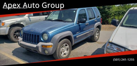 2004 Jeep Liberty for sale at Apex Auto Group in Cabot AR