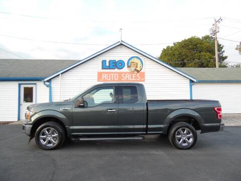 2018 Ford F-150 for sale at Leo Auto Sales in Leo IN