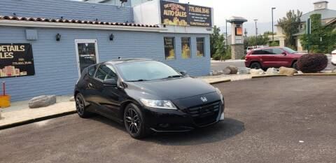 2011 Honda CR-Z for sale at The Little Details Auto Sales in Reno NV