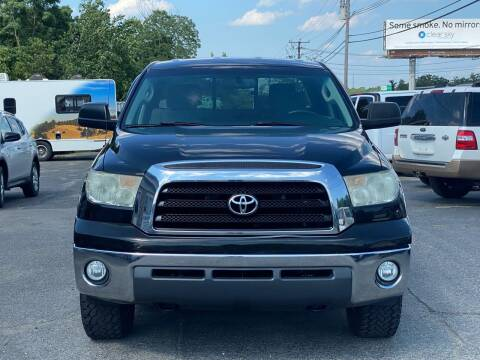 2008 Toyota Tundra for sale at MetroWest Auto Sales in Worcester MA