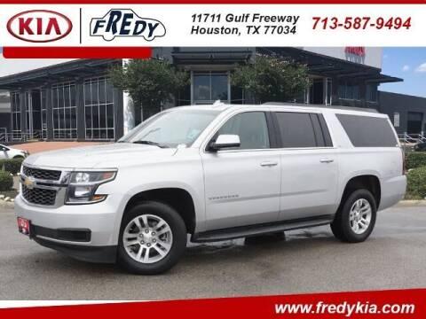 2017 Chevrolet Suburban for sale at FREDY KIA USED CARS in Houston TX