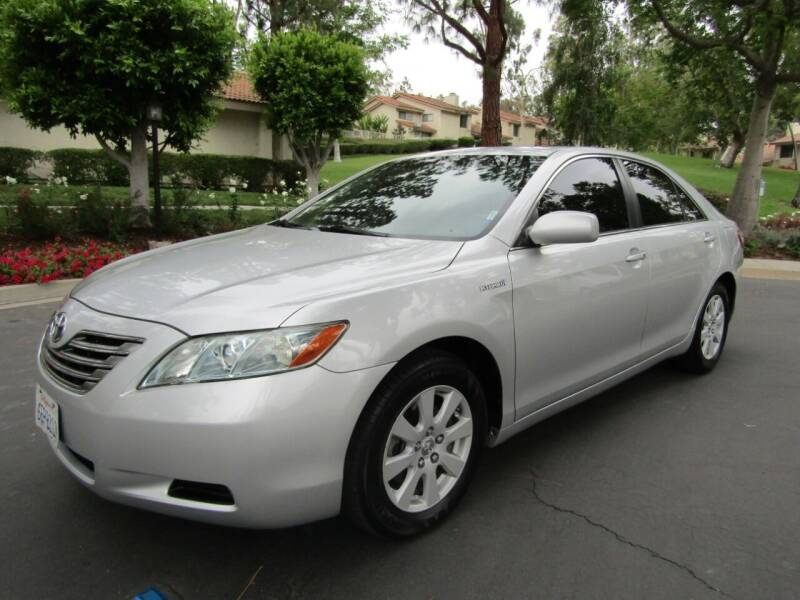 2009 Toyota Camry Hybrid for sale at E MOTORCARS in Fullerton CA